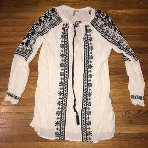 ASOS throw/beach dress in a size 4